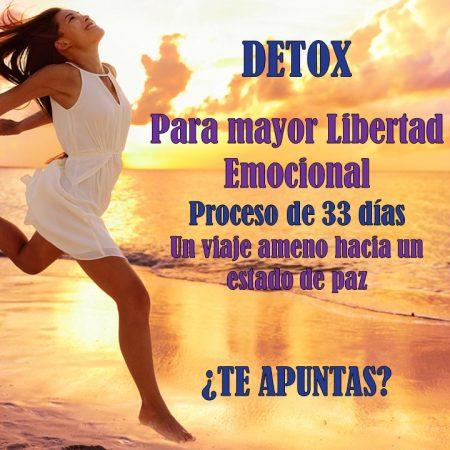 Proceso de 33 días de Detox Emocional